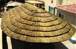 Fire retardant for tiki bar thatch