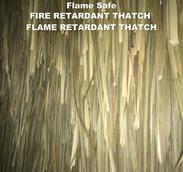 Fire retardant Thatch Safe